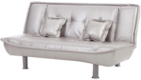 Glory Furniture G603S G600 Series Convertible Bycast Leather Sofa