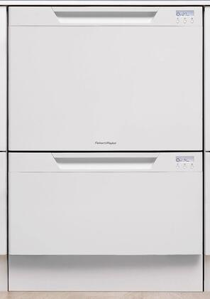 Fisher Paykel DD24DCTW6V2 DishDrawer Series Drawers Semi-Integrated Dishwasher with in White