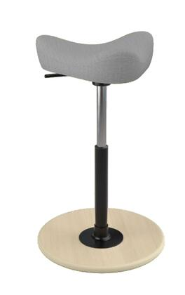 "Varier MOVE SMALL 2700 UMAMI 26"" - 34"" Sit-Stand Chair with Umami Upholstery,"