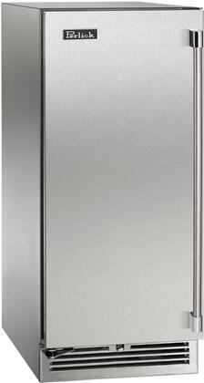 "Perlick HP15RO31 15"" Signature Series Outdoor Refrigerator with Single Dispenser, RAPIDcool Forced-air System, and Stainless Steel Construction, in"