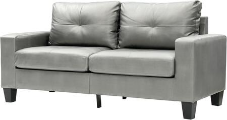 Glory Furniture G466AS Newbury Series Modular Faux Leather Sofa