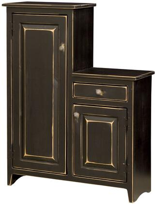 Chelsea Home Furniture 465205B Peters Series Freestanding Wood 1 Drawers Cabinet