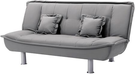 Glory Furniture G604S G600 Series Convertible Bycast Leather Sofa