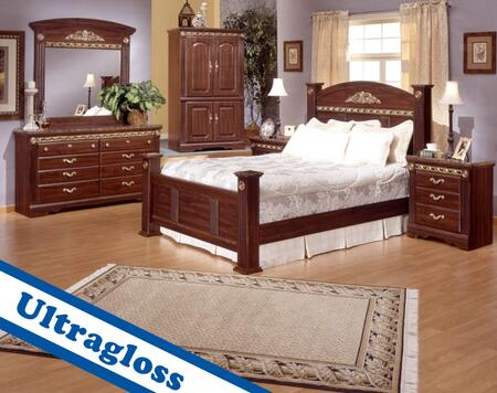 Sandberg 174A Renaissance Marble Queen Bedroom Sets