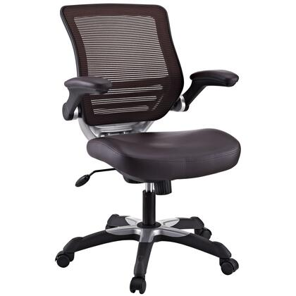 """Modway EEI595BRN 26.5"""" Adjustable Contemporary Office Chair"""