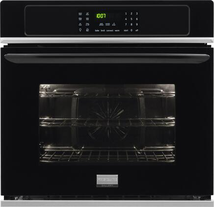 "Frigidaire Gallery FGEW2765P 27"" Wide Single Electric Wall Oven With 3.8 Cu. Ft. Capacity, Steam Clean, Quick Preheat, Delay Clean, Oven Light, Temperature Probe, Timer, Add A Minute, In"