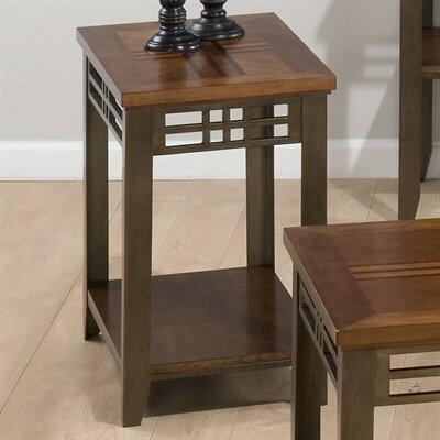 Jofran 5367 Barrington Series Contemporary Rectangular 0 Drawers End Table