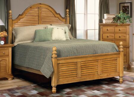 American Woodcrafters 650050POS  Queen Size Poster Bed