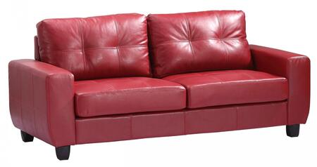 Glory Furniture G209AS  Stationary Bycast Leather Sofa