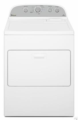 "Whirlpool WED49STBW 29"" 7.0 cu. ft. Electric Dryer, in White"