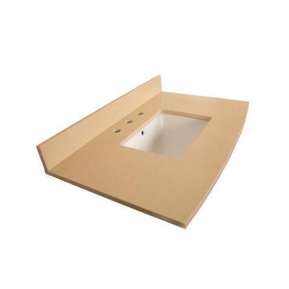"Bellaterra Home 7612TOP 36"" Counter Top with Rectanglar Sink"