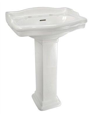 Elizabethan Classics ECETP8WH Bath Sink