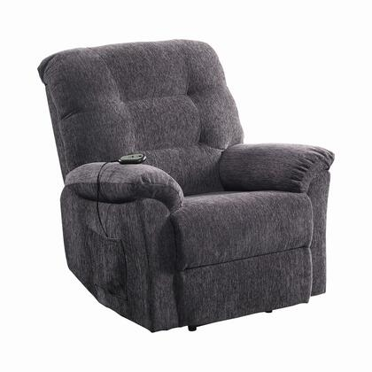 Coaster 601015 Recliners Series Casual Chenille Wood Frame  Recliners