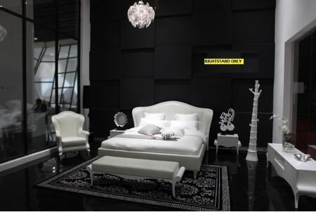 VIG Furniture SUNRISENS Sunrise Series  Wood Night Stand
