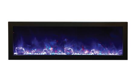 Amantii BI60SLIMOD Panorama Series Wall Mountable Electric Fireplace