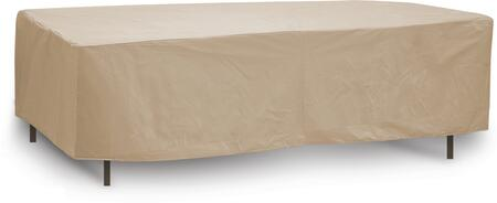 """PCI by Adco 64"""" x 48"""" x 30"""" Oval/Rectangular Table Cover with Water Resistant, Secured Velcro Ties and Heavy Duty Vinyl Fabric in"""