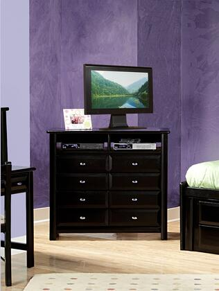 """Chelsea Home Furniture 3534539-X 44"""" Media Chest with Rustic Style, and All Pine Wood Construction"""