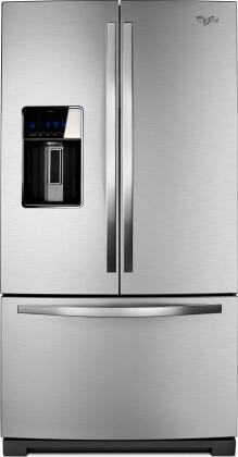 Whirlpool Wrf989sdaf French Door Refrigerator With 26 8 Cu