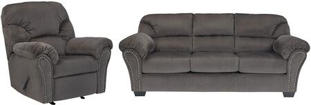 Milo Italia MI9042SRCHAR Madison Living Room Sets
