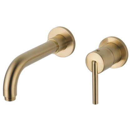 Trinsic T3559LF-CZWL Delta Trinsic: Single Handle Wall Mount Lavatory Faucet Trim in Champagne Bronze