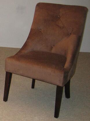 Bernards 7961  Wood Frame Accent Chair
