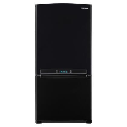 Samsung Appliance RB195ACBP  Bottom Freezer Refrigerator with 18.0 cu. ft. Total Capacity 5.69 cu. ft. Freezer Capacity 3 Glass Shelves