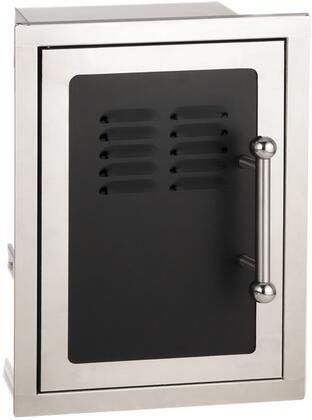 FireMagic 53820HTSx Echelon Black Diamond Series Single Access Door with Liquid Propane Tank Tray and Louvers
