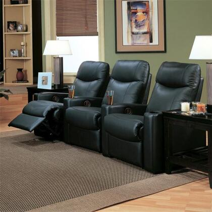 Coaster 7537 Contemporary Wood Frame  Recliners