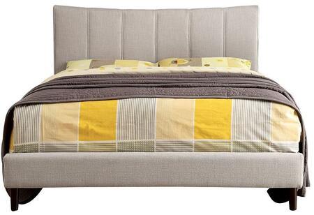 Furniture of America CM7678BGEKBED Ennis Series  Eastern King Size Bed