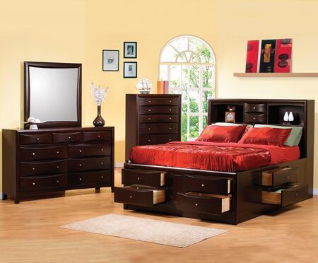 Coaster 200409QSET Phoenix Queen Bedroom Sets