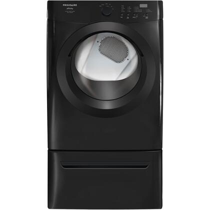 Frigidaire FAQG7001LB Affinity Series 7.0 cu. ft. Gas Dryer, in Black