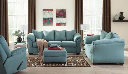 Milo Italia MI7909SLRSKY Tristian Living Room Sets