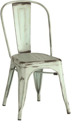 Coaster 105614 Dining Chairs and Bar Stools Series Rustic Metal Frame Dining Room Chair