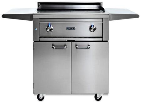 "Lynx L30AGF 56"" Freestanding Asado Grill with Multi-Layer Cooking Surface"