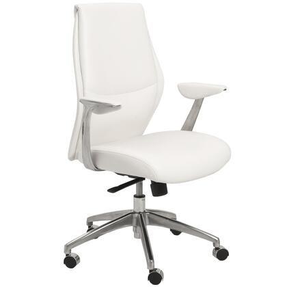 """Euro Style 00473GRY 26.75"""" Modern Office Chair"""