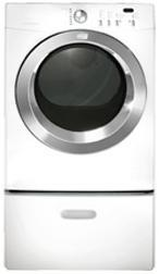 Frigidaire FAQE7073KW Affinity Series Electric Dryer, in White