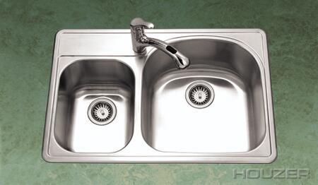 Houzer PMC3322SL Kitchen Sink
