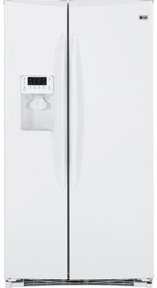 GE PSHF6RGXWW Freestanding Side by Side Refrigerator