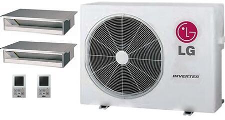 LG 704097 Dual-Zone Mini Split Air Conditioners