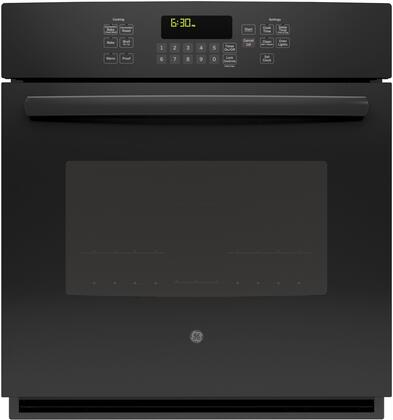 "GE JK5000 27"" Built-In Single Wall Oven with 4.3 cu. ft. Total Oven Capacity, Convection Self-Clean Heavy Duty Oven Racks, Steam Clean Option, Ten Pass Bake Element, and Delay Bake, in"