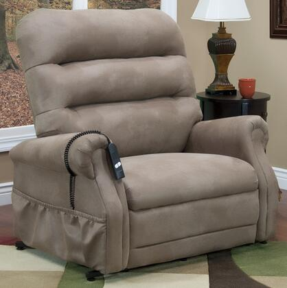 MedLift 3653STM Contemporary Fabric Wood Frame  Recliners