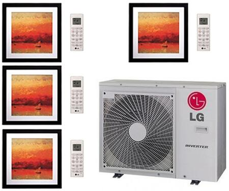 LG 704179 Quad-Zone Mini Split Air Conditioners