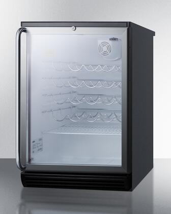 "Summit SWC6GBLSH 23.625"" Wine Cooler"
