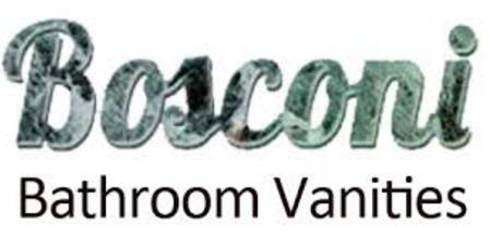 Bosconi Bosconi A130BWLBG Tempered Glass Vanity Tops