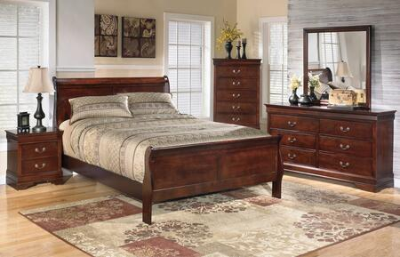 Milo Italia BR530QSLBDMN Huerta Queen Bedroom Sets