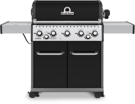 "Broil King 923184 Freestanding 64"" Liquid Propane Grill, in Black"