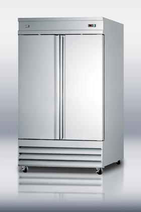 Summit SCFF495 46.6 cu. ft. Upright Commercial Reach In Freezer