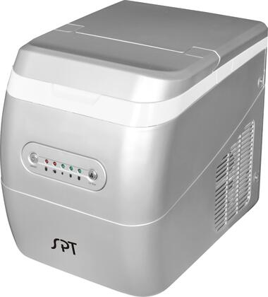 Sunpentown IM123S  Freestanding Ice Maker with 26 lbs. Daily Ice Production, 1.5 lbs. Ice Storage, in Silver