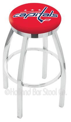 Holland Bar Stool L8C2C25WSHCAP Residential Vinyl Upholstered Bar Stool