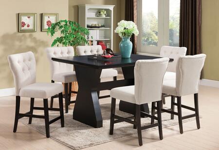 Acme Furniture Effie 7 PC Set